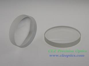 Plano Concave Lens, 95mm Dia. x -600.0mm FL, Uncoated, N-BK7 Lens
