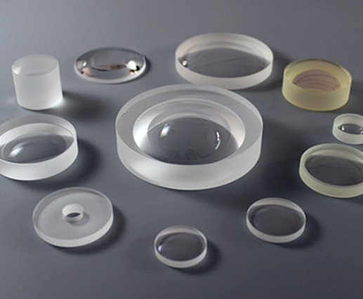 UV grade Fused Silica meniscus lenses from CLZ Optics