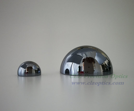 Optical Dome, 30mm diameter, 1mm thick, 15mm height, Silicon type Dome Windows