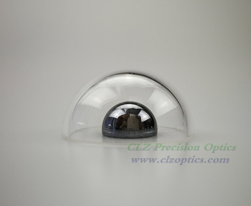 Dome window, 30mm diameter, 1mm thick, WG295 or equivalent type