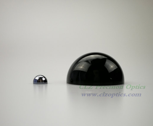 Optical Dome, 50mm diameter, 2mm thick, 16mm height, RG715 or equivalent type Dome Windows