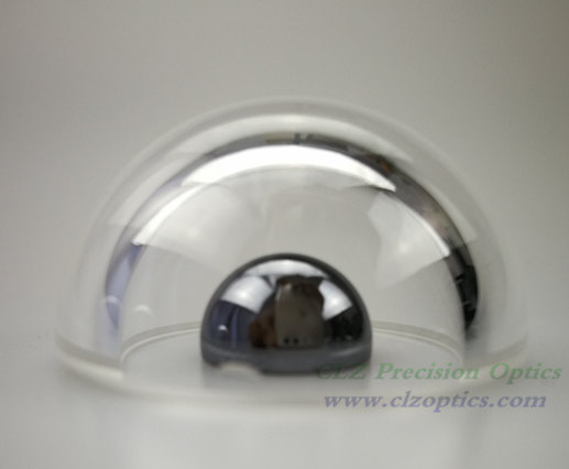 Optical Dome, 32mm diameter, 4mm thick, 17mm height, N-BK7 or equivalent type Dome Windows